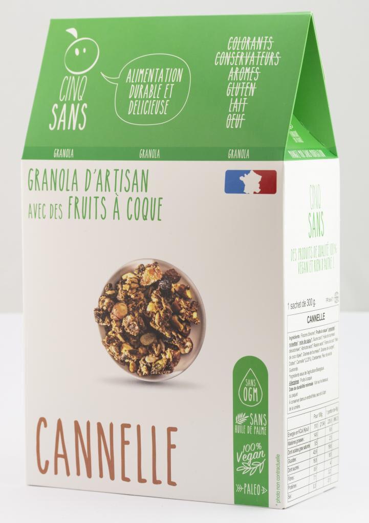 5 Sans Granola cannelle
