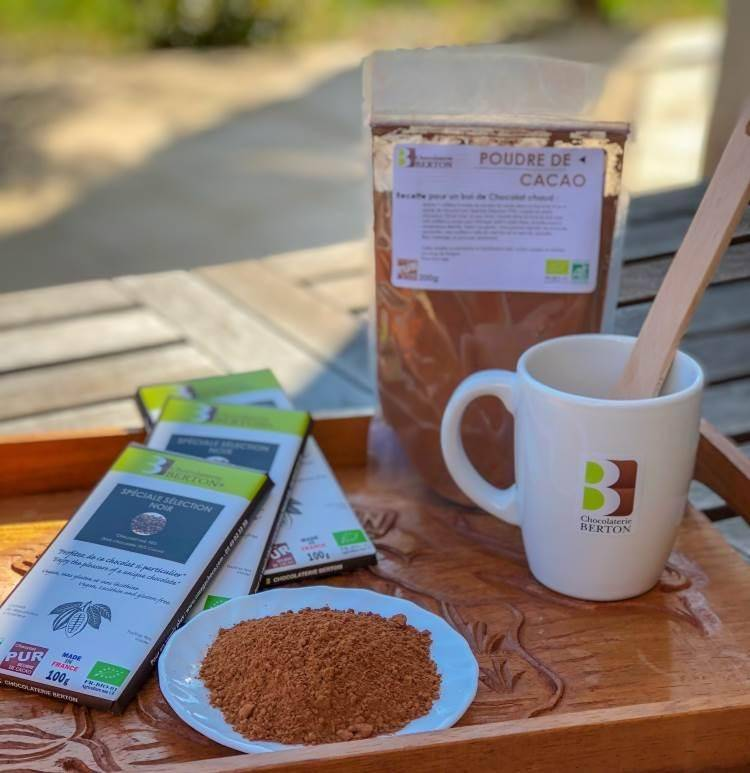 ECOCERT Lot spécial petit déjeuner : Chocolat chaud Bio et VEGAN
