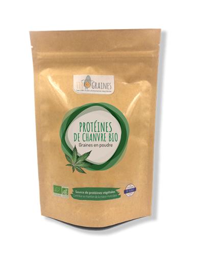 110 Graines Protéines de chanvre BIO - 200 g - 110 Graines