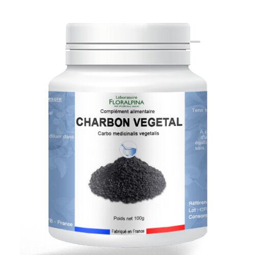 Rue Des Plantes Charbon végétal poudre 100g - charbon végétal actif pour vous...