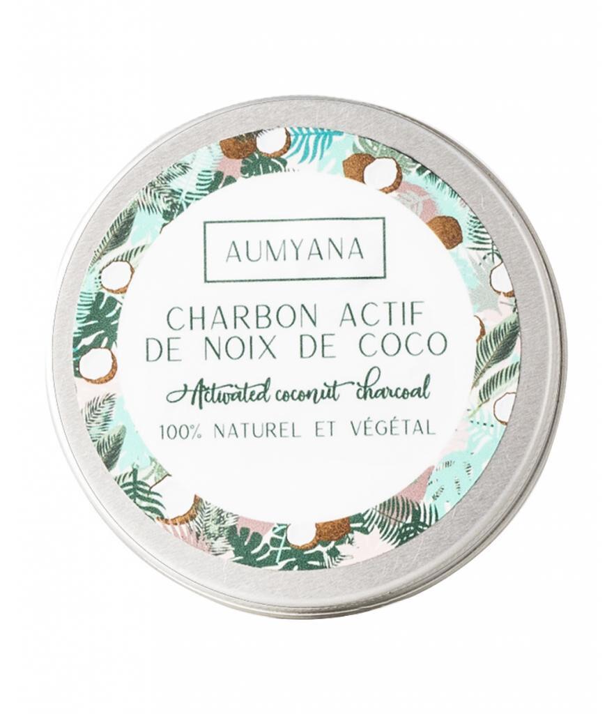 Aumyana- Marque Française Charbon actif végétal