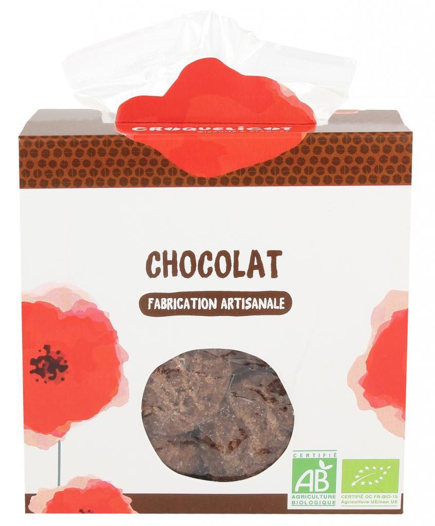 Croquelicot Biscuits au Chocolat, biologique, CROQUELICOT