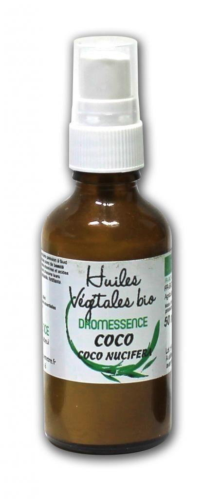 Dromessence Huile végétale  de Coco BIO  50 ml DROMESSENCE