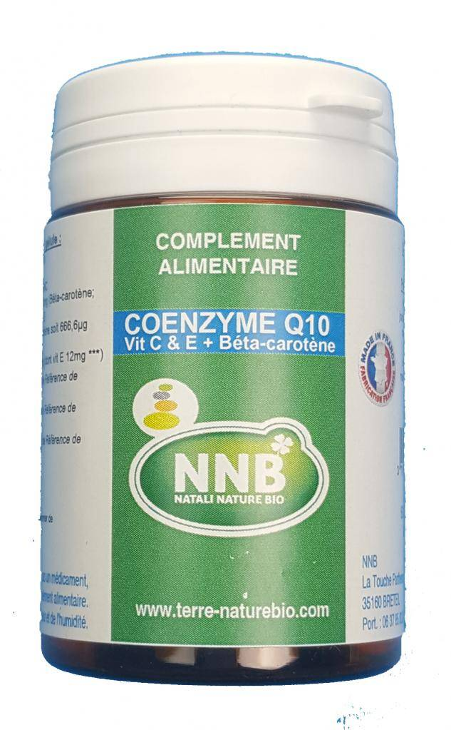 Natali Nature Bio Coenzime Q10 Vitamine C & E + bétacarotène