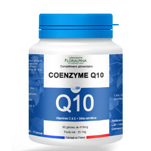 Rue Des Plantes Coenzyme Q10 - 60 gélules, mélange de Coenzyme Q10, de vitamine...