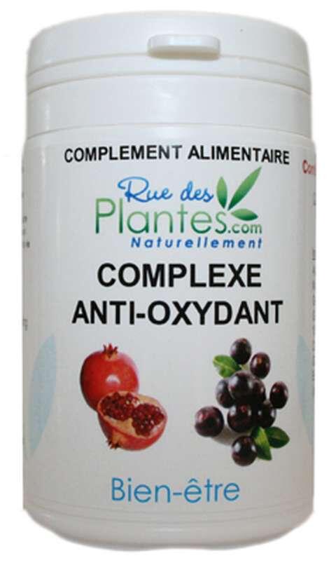 Rue Des Plantes Complexe Anti-oxydant 60 gélules, la vitamine C qui contribue à...