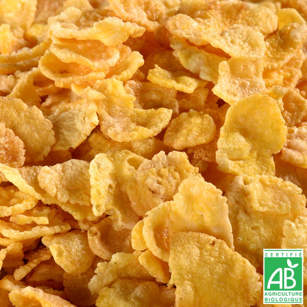 JUSTEBIO - Corn Flakes - Lot de 4 sachets de 625g