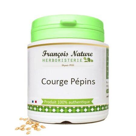 François Nature Courge pépins Gélules ou poudre240 gélules gélatine bovine