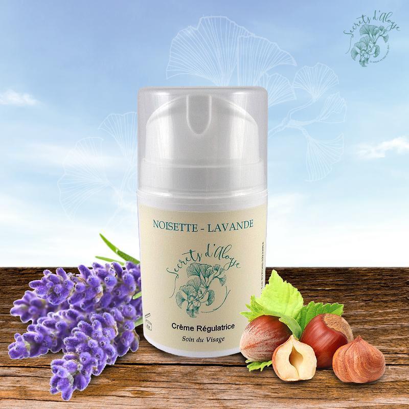Secrets D'aloyse Crème Régulatrice Noisette - Lavande Certifié BIO - 50 ml -...