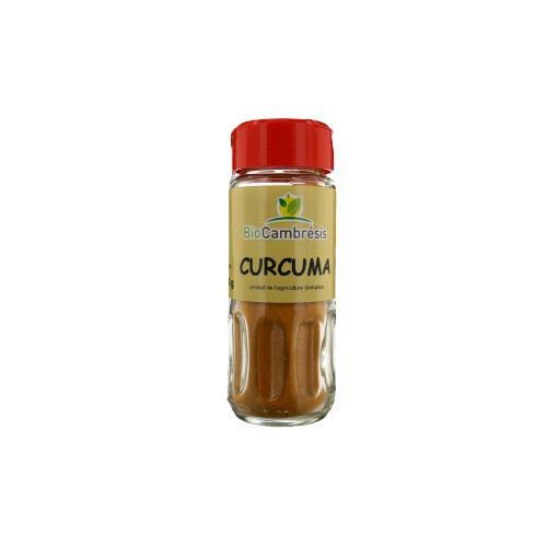 Les Délices De Sarah Curcuma pourdre flacon 30g--bio cambrésis