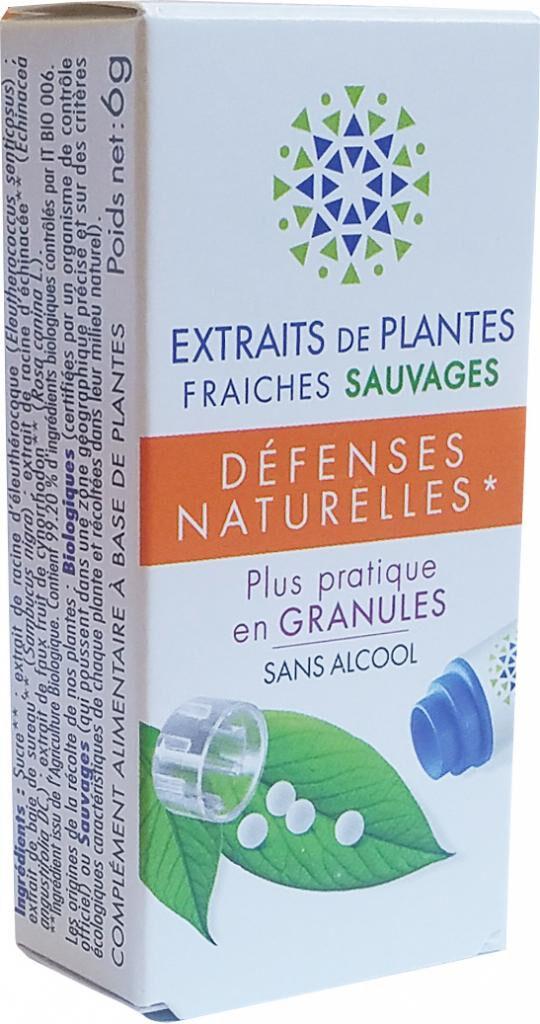 BIO FORMULE DEFENSES NATURELLES complexe de Teinture Mère granules  sans...