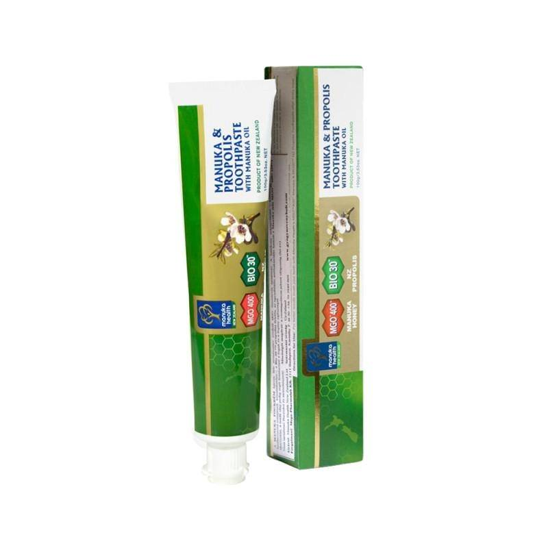 Abeille Heureuse Dentifrice au Miel de Manuka MGO™ 400+, Huile de Manuka et...