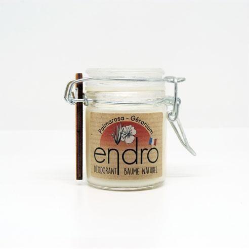 Breiz Henné Déodorant solide en bocal - Palmarosa Géranium
