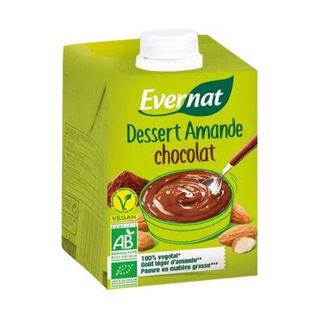 EVERNAT Dessert Amande Chocolat - 525gr - Evernat