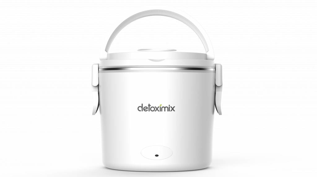 Detoximix - Eat Well Feel Good Lunch box chauffante DETOXIMIX meal white