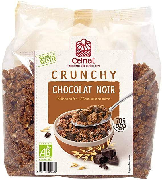 CELNAT Crunchy chocolat noir 500g  CELNAT