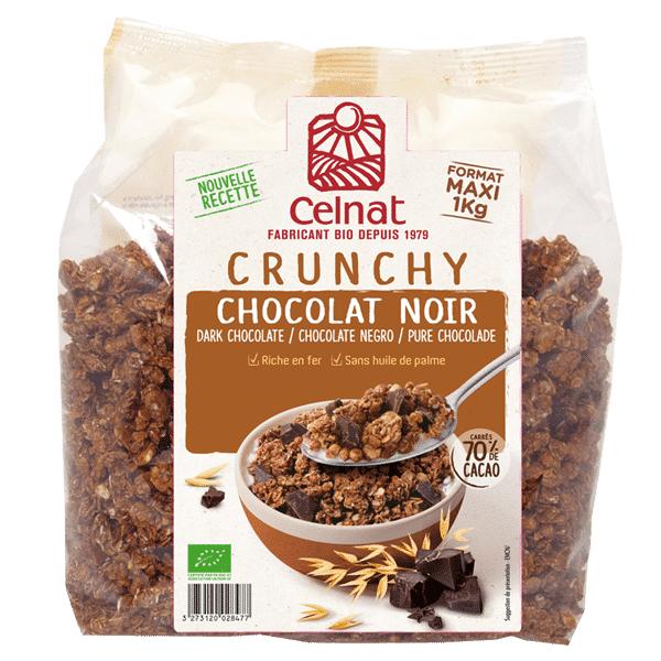 CELNAT Crunchy chocolat noir 1kg  CELNAT