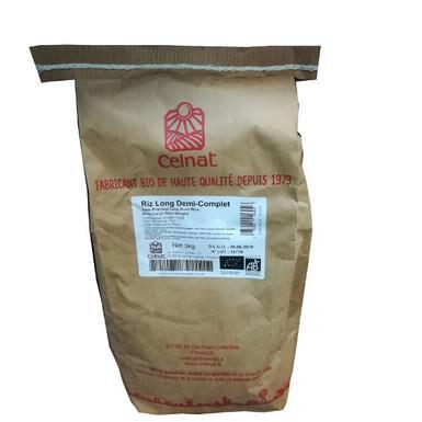 CELNAT Riz long 1/2 complet 3kg  CELNAT