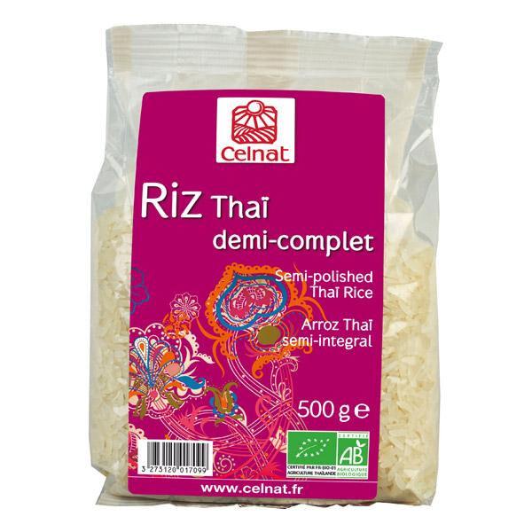CELNAT Riz thai 1/2 complet 3kg  CELNAT
