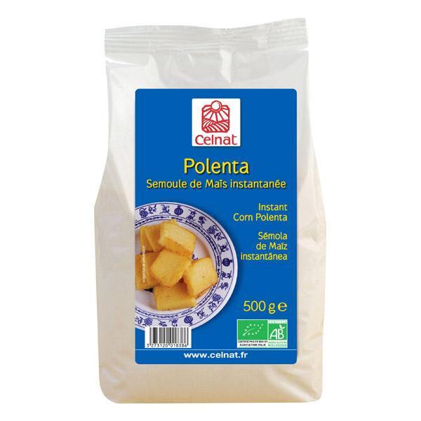 CELNAT Polenta de semoule de maïs instantanée 500g  CELNAT