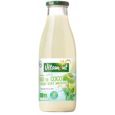 VITAMONT EAU DE COCO Citron Vert Menthe