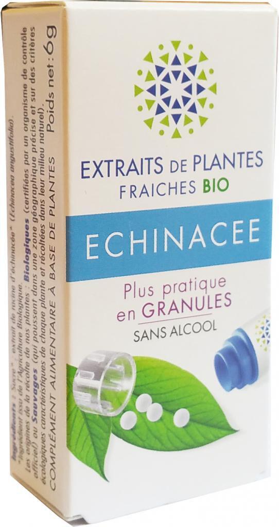 Kosmeo ECHINACEE Teinture Mère  d'extaits de plantes fraiches granules ...
