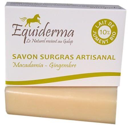 Les Essentiels D'isabelle Savon Lait de Jument 10% Macadamia, Gingembre 100g Bio