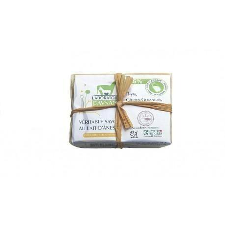 Les Essentiels D'isabelle Savon au lait d'ânesse 40 % acné 100g
