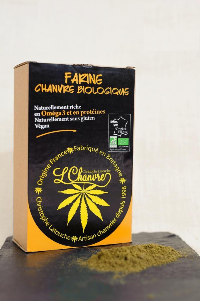 L'chanvre Farine de chanvre biologique