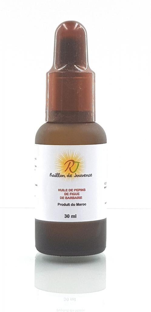 Raillon De Jouvence Huile de pépins de figue de barbarie vierge bio 30 ml