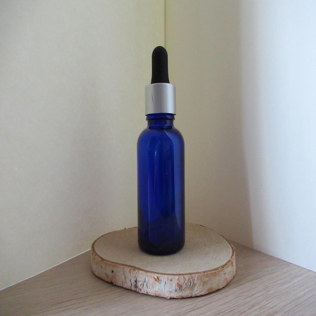 Arom'nature Conseil Flacon vide en verre avec pipette intégrée 30 ml