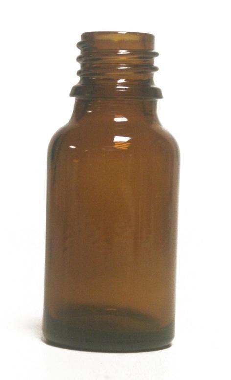 Essentielbio Bouteille en  verre -15 ml- Ambre  pour huile essentielle  bouchon...