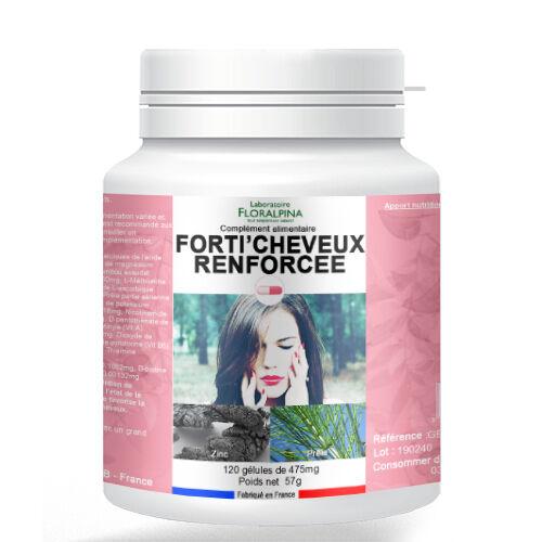 Rue Des Plantes Forti'cheveux renforcé 120 gélules - la biotine et le zinc qui...