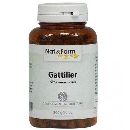 Vitaforce Gattilier - Régulation des hormones féminines - 200 gélules de...