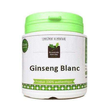 François Nature Ginseng blanc CA Meyer racine120 gélules gélatine bovine