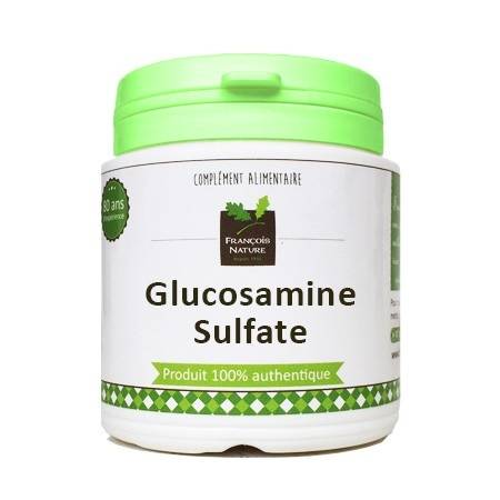 François Nature Glucosamine sulfate1000 gélules gélatine bovine