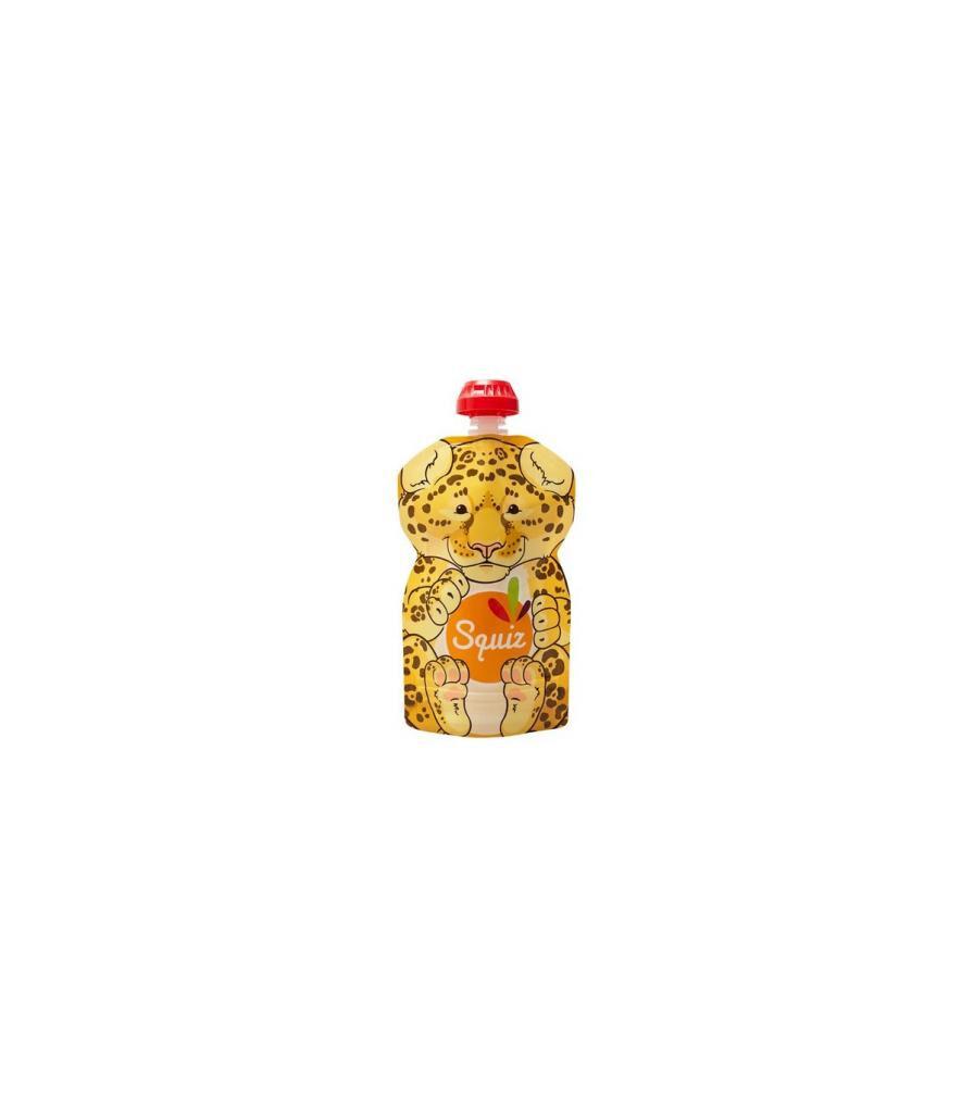 Jolie PlanÈte Gourde compote réutilisable 130 ml - Jaguar