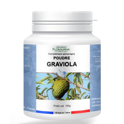 Rue Des Plantes Graviola poudre 100g - riche en vitamines et en minéraux