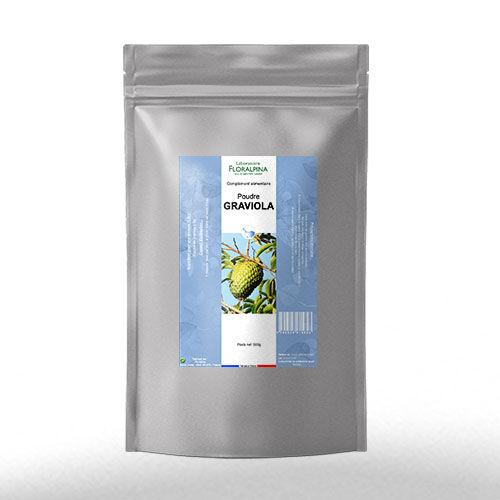 Rue Des Plantes Graviola poudre 500g - riche en vitamines et en minéraux