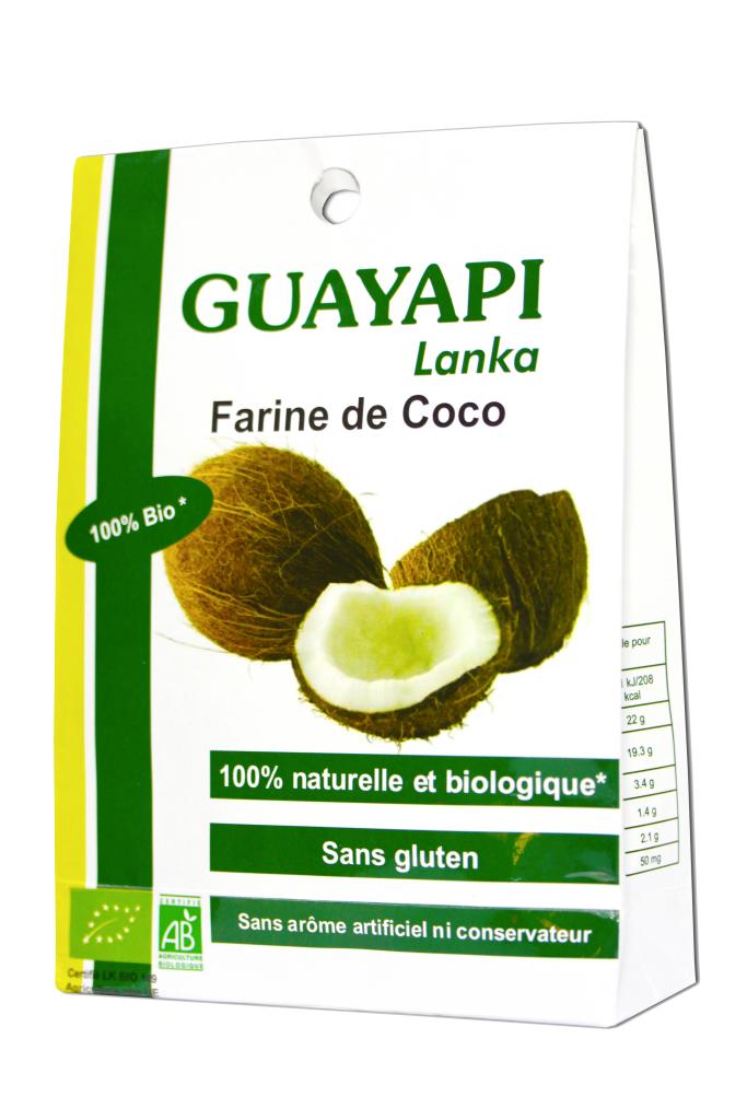 GUAYAPI Farine de coco bio
