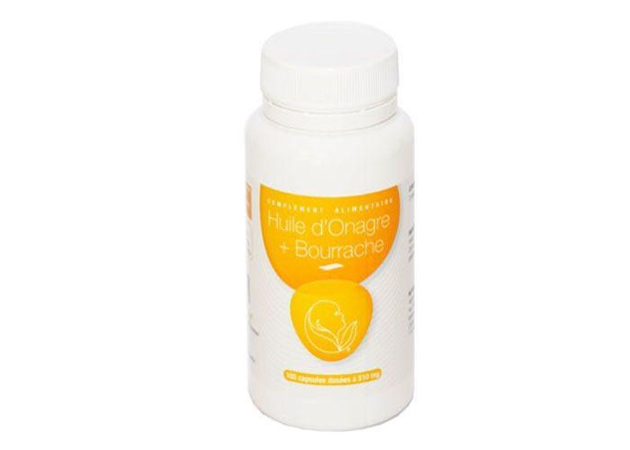 Le Germe De Vie Huile onagre + bourrache 100 capsules Le Germe de Vie