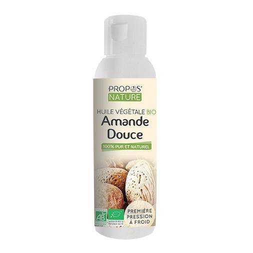 Propos'nature Amande douce BIO - Huile végétale vierge 100 ml