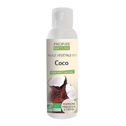 Propos'nature Coco BIO - Huile végétale vierge 100 ml