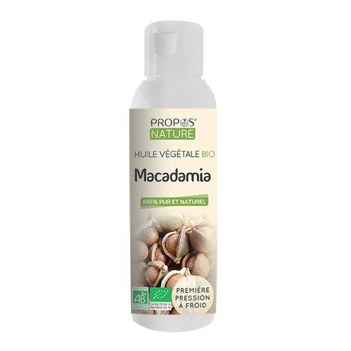 Propos'nature Macadamia BIO - Huile végétale vierge 100 ml