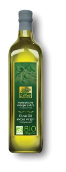 ECOCERT L'élixir - Huile d'olive vierge extra BIO - 1L