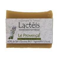 ECOCERT Savon solide 40% de lait d'ânesse frais et Bio- Le Provençal