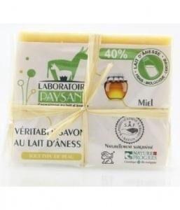 Les Essentiels D'isabelle Savon 40% de lait d'ânesse au miel
