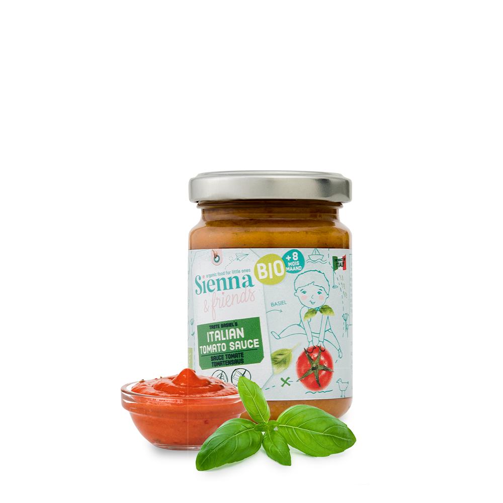 Sienna & Friends S&F; BIO Sauce Tomate Italienne 130g
