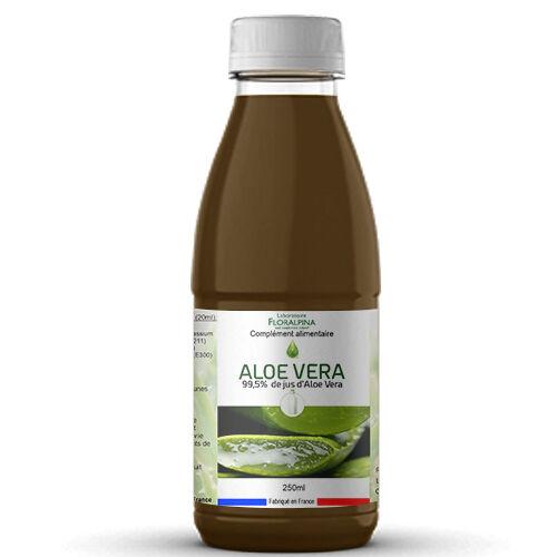 Rue Des Plantes Jus d'aloe vera 250ml (99,85% de jus d'Aloe Vera) - doux et...