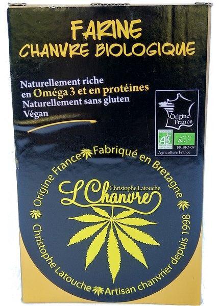 Sana Vita Farine de chanvre biologique, protéine 100% végétale., 250 g